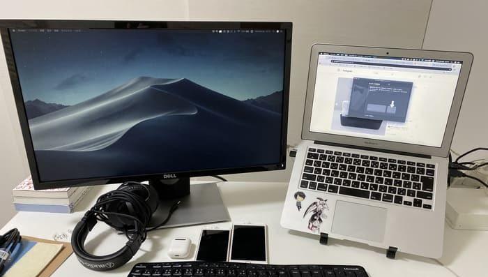 SE2416HとMacBook
