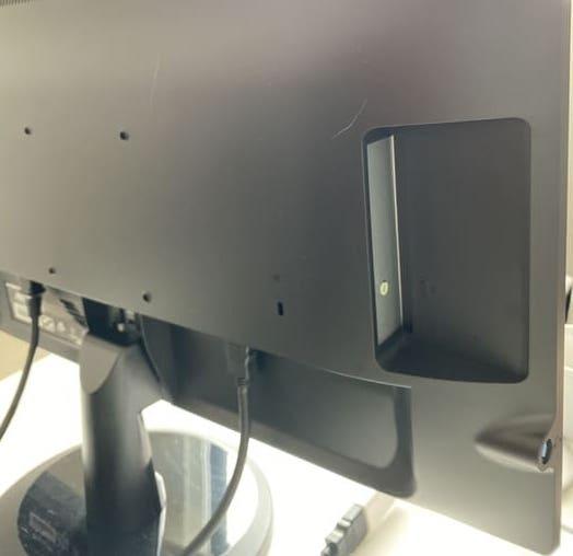 EX-LD2381DBの音声出力端子