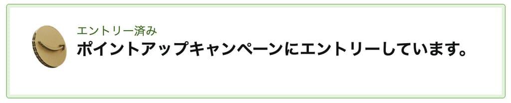 Amazonブラックフライデー&サイバーマンデーのエントリー画面