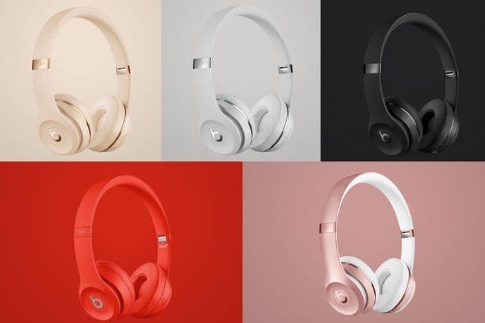 Beats solo3 wirelessのカラーバリエーション