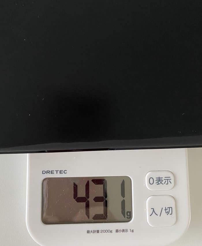 DM100の重さ