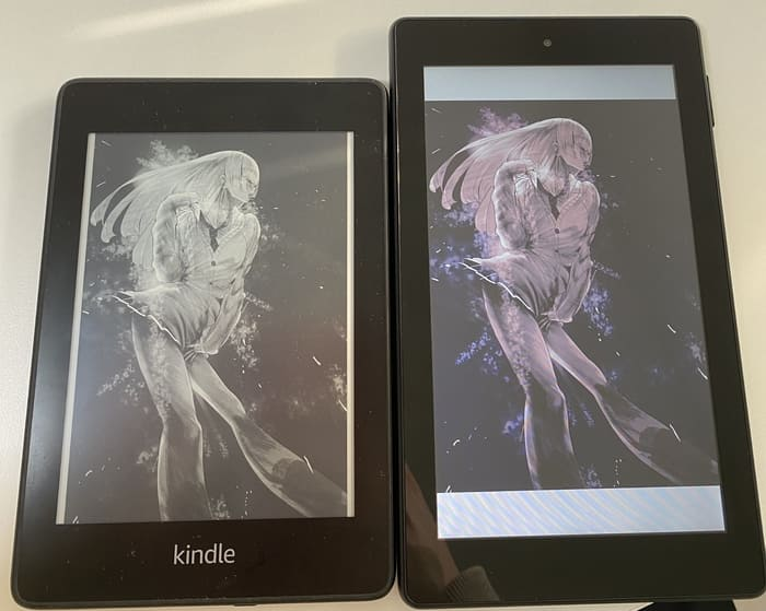 Fire 7タブレットとKindle