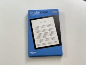 Kindle Oasisiの外箱