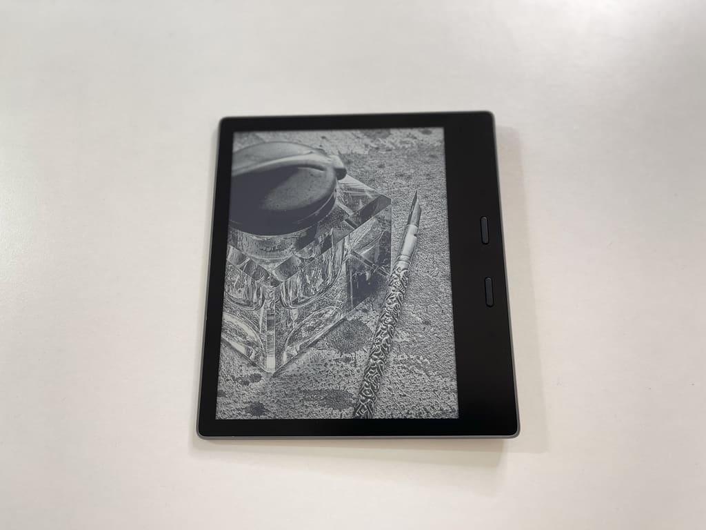Kindle Oasisiの外観デザイン