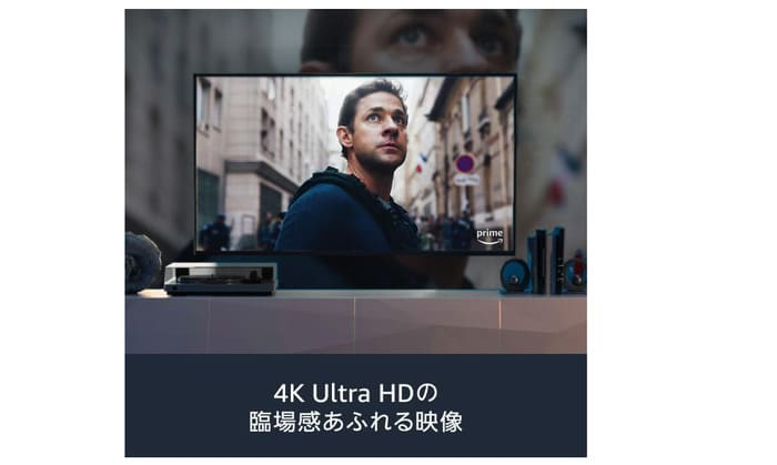 Fire tv stickの4K対応