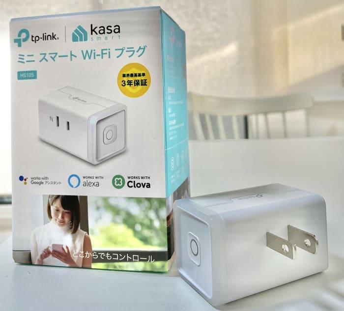 tp-link WiFiスマートプラグ HS105と箱