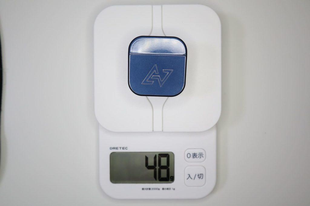 TE-D01gの重さ