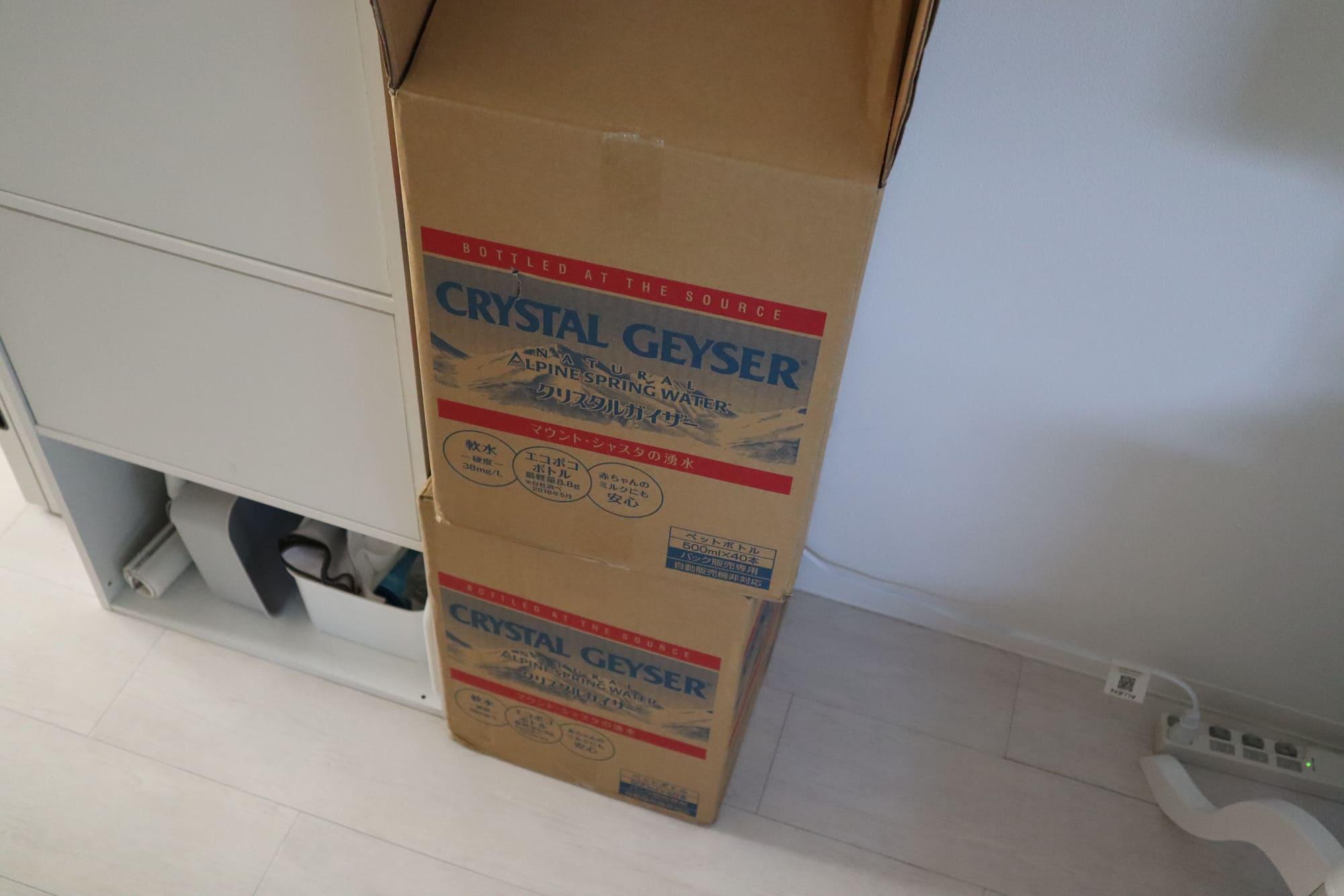 クリスタルガイザー40本セット