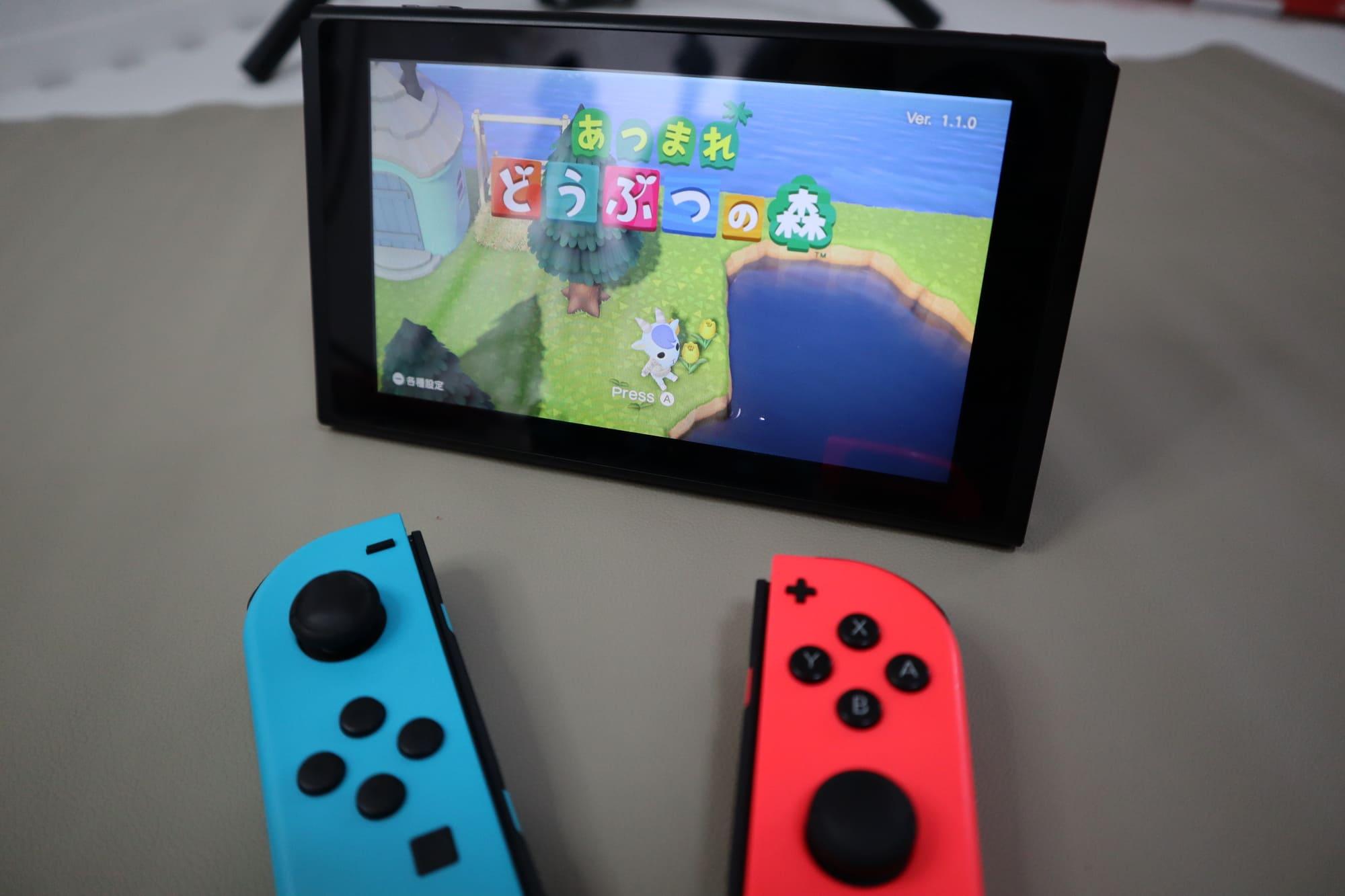 Switchのテーブルモード