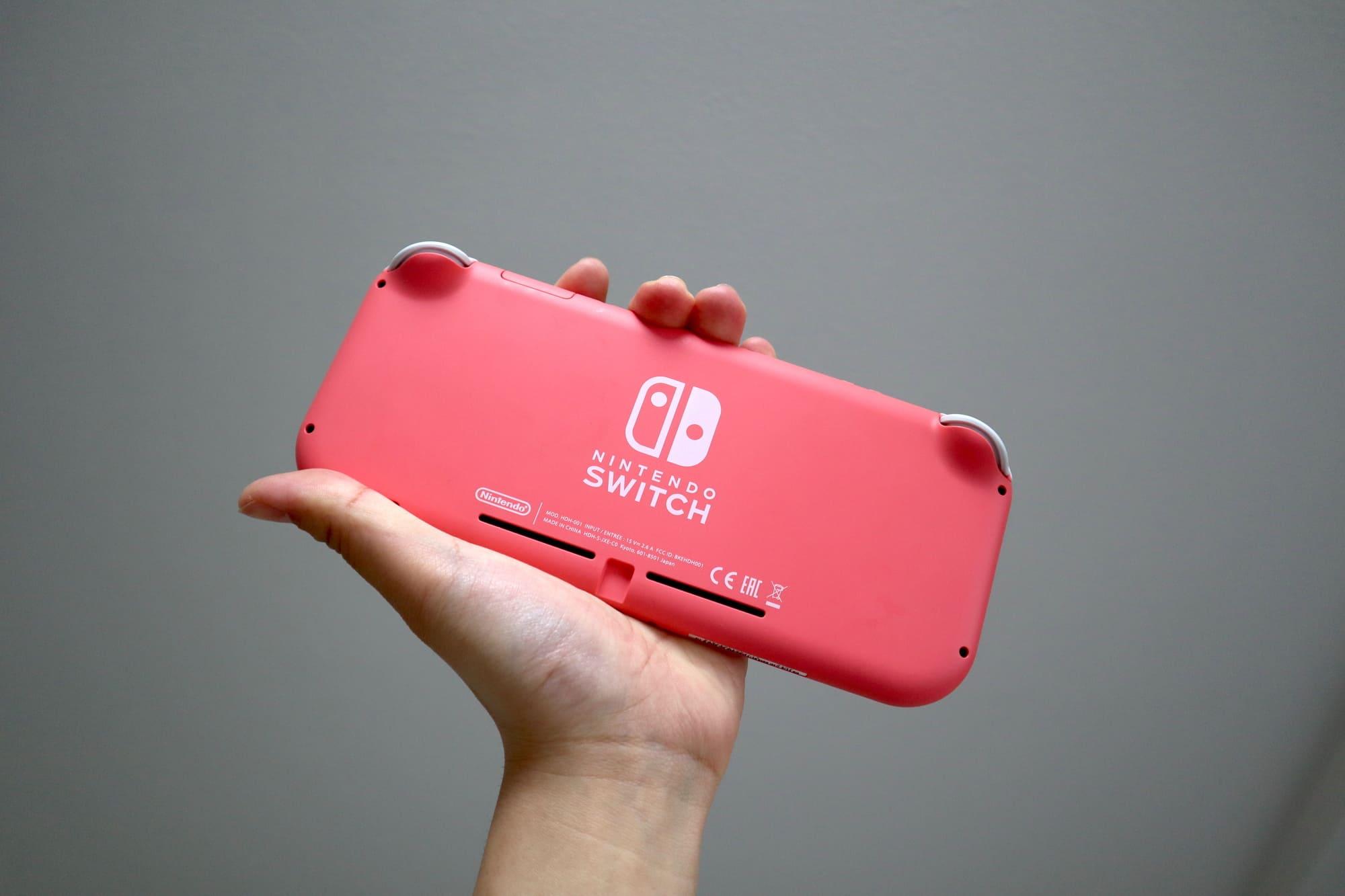 Switch Liteコーラルの重さ