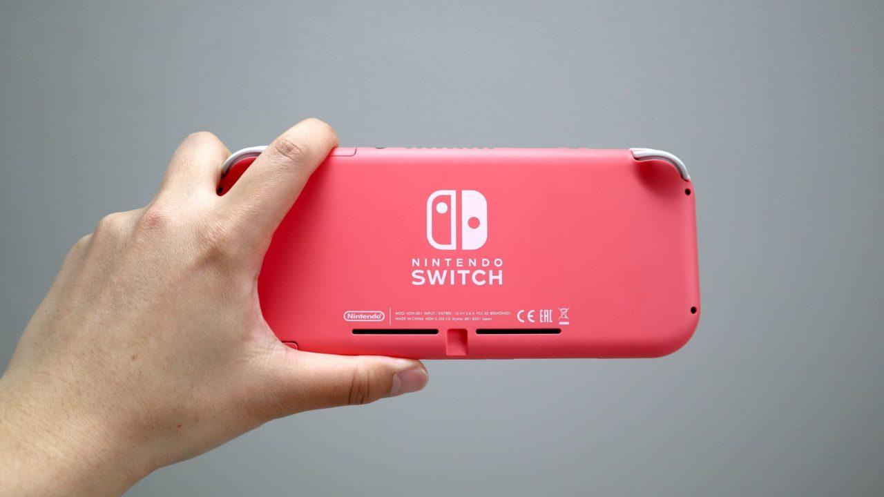 Switch Liteコーラルの色合い