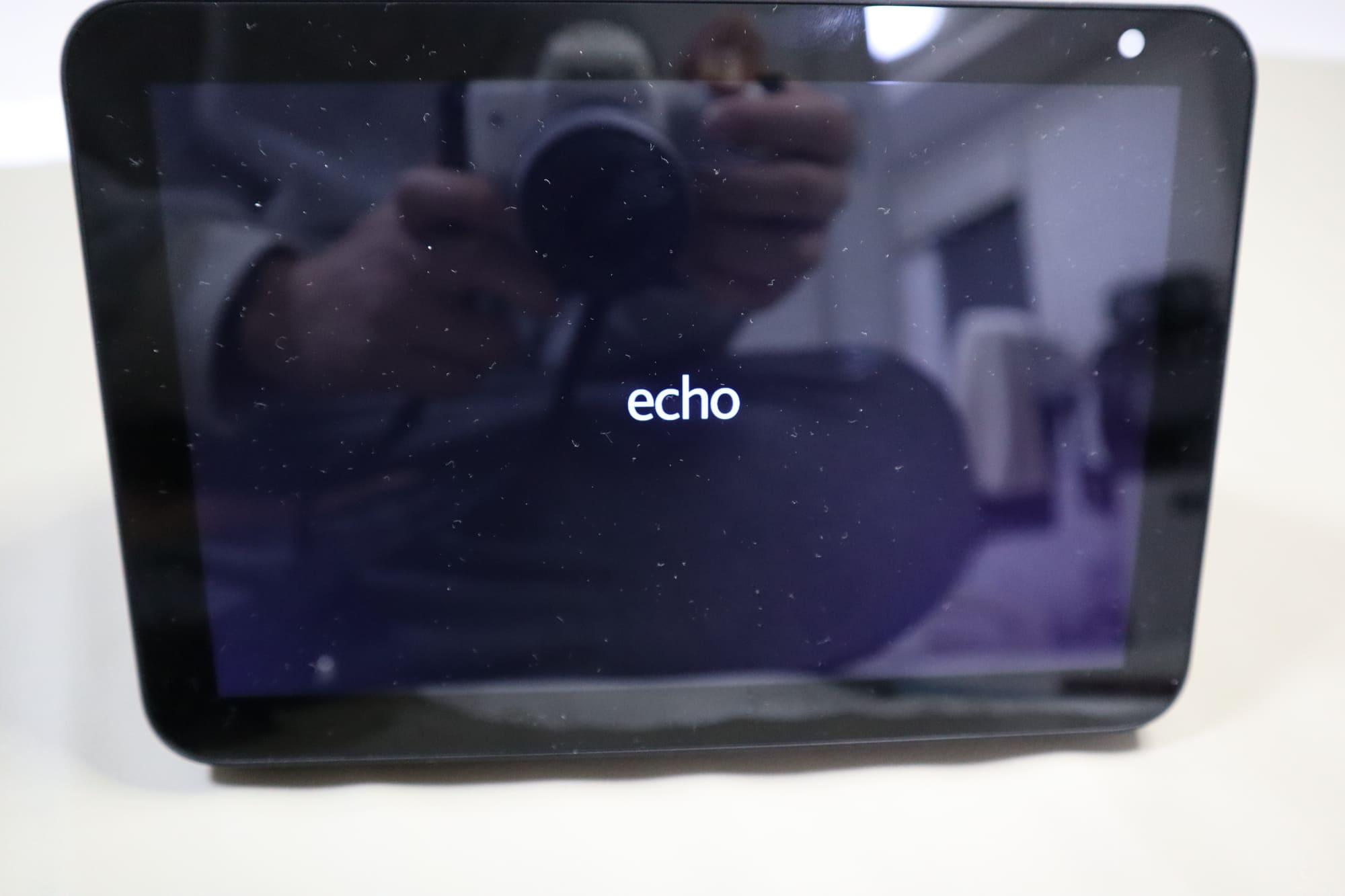 Echo Show8の起動画面