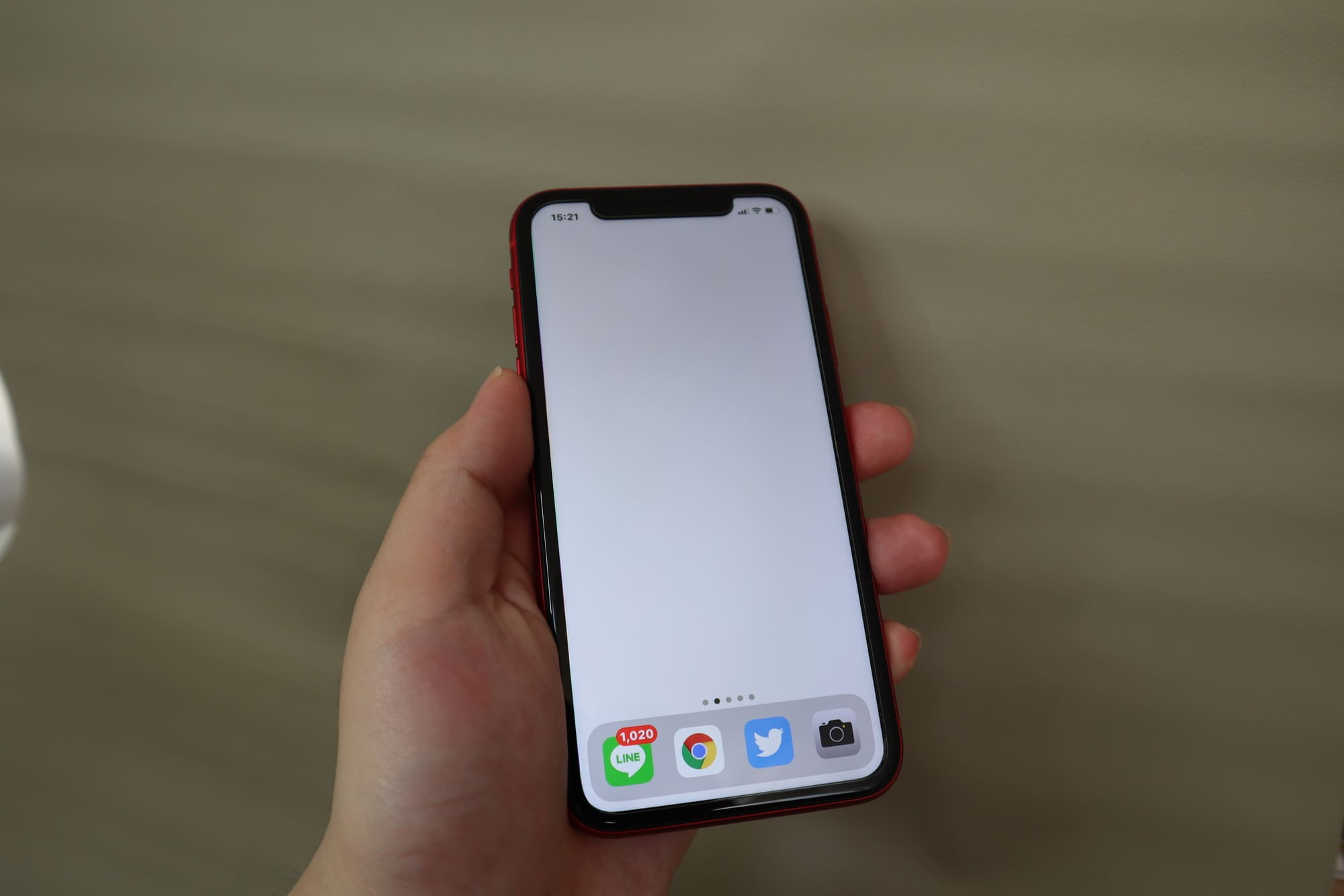 iPhone11の大きさはやや大きめ