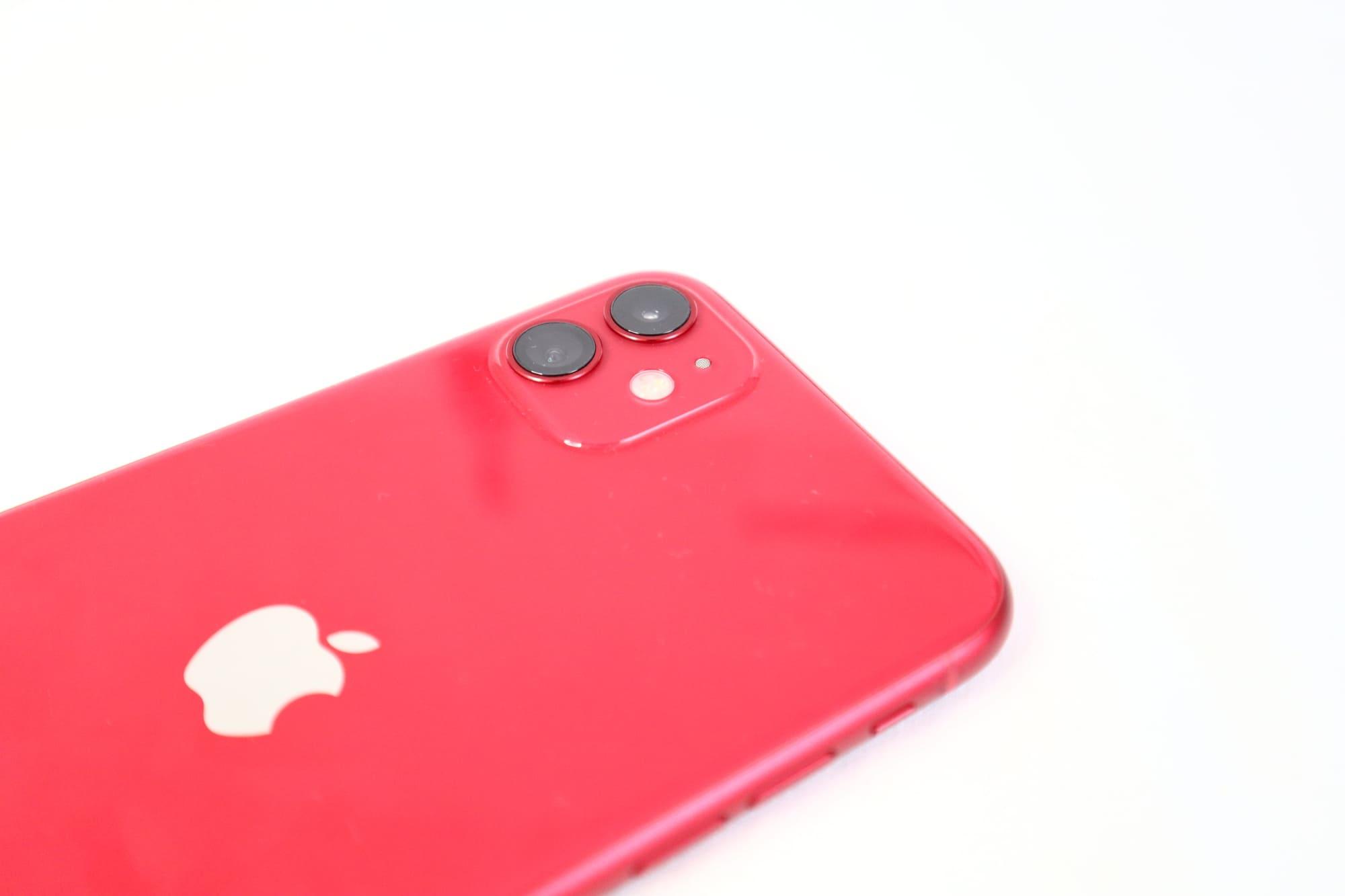 iPhone11のデュアルカメラ