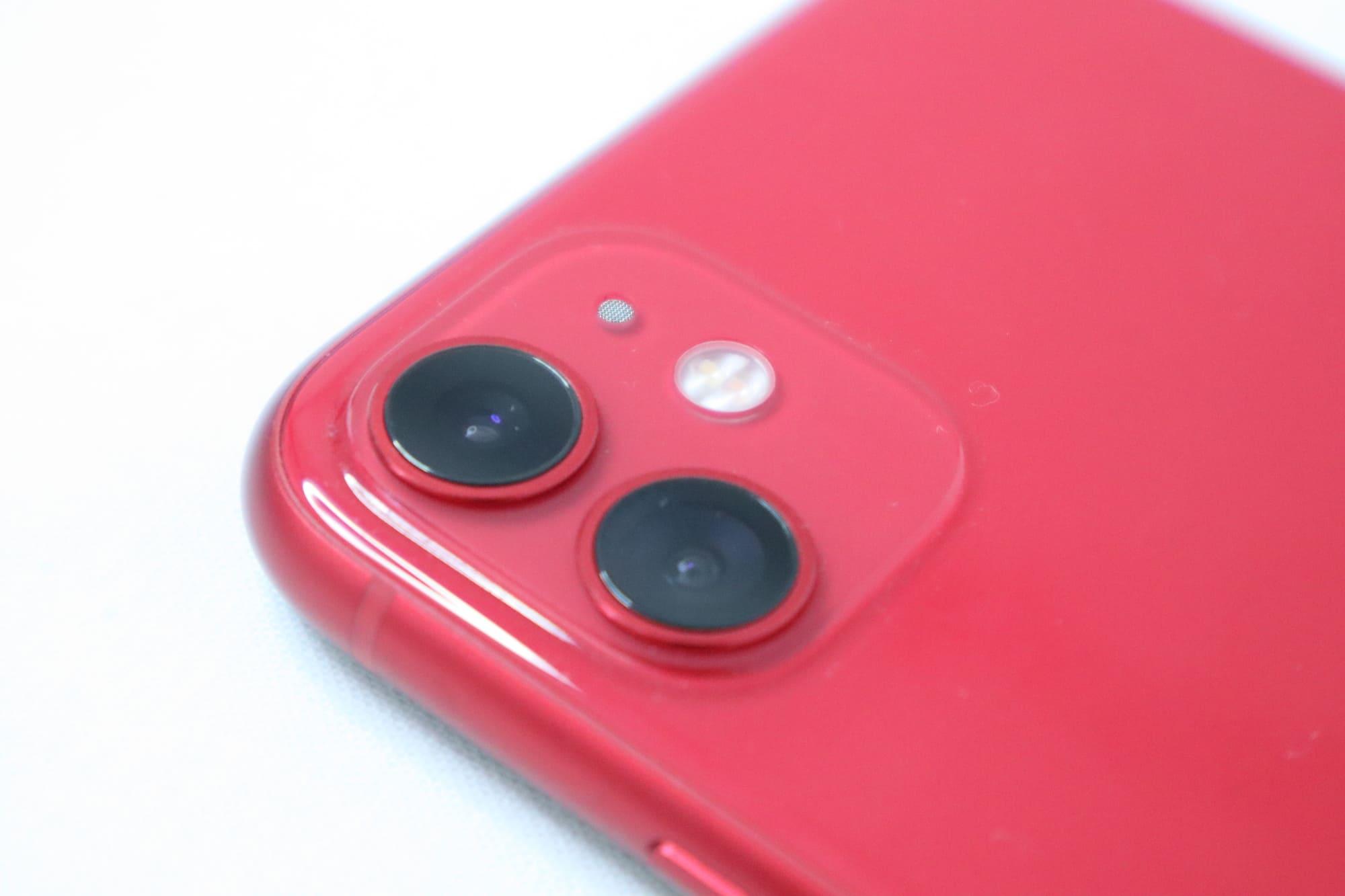 iPhone11のカメラ性能