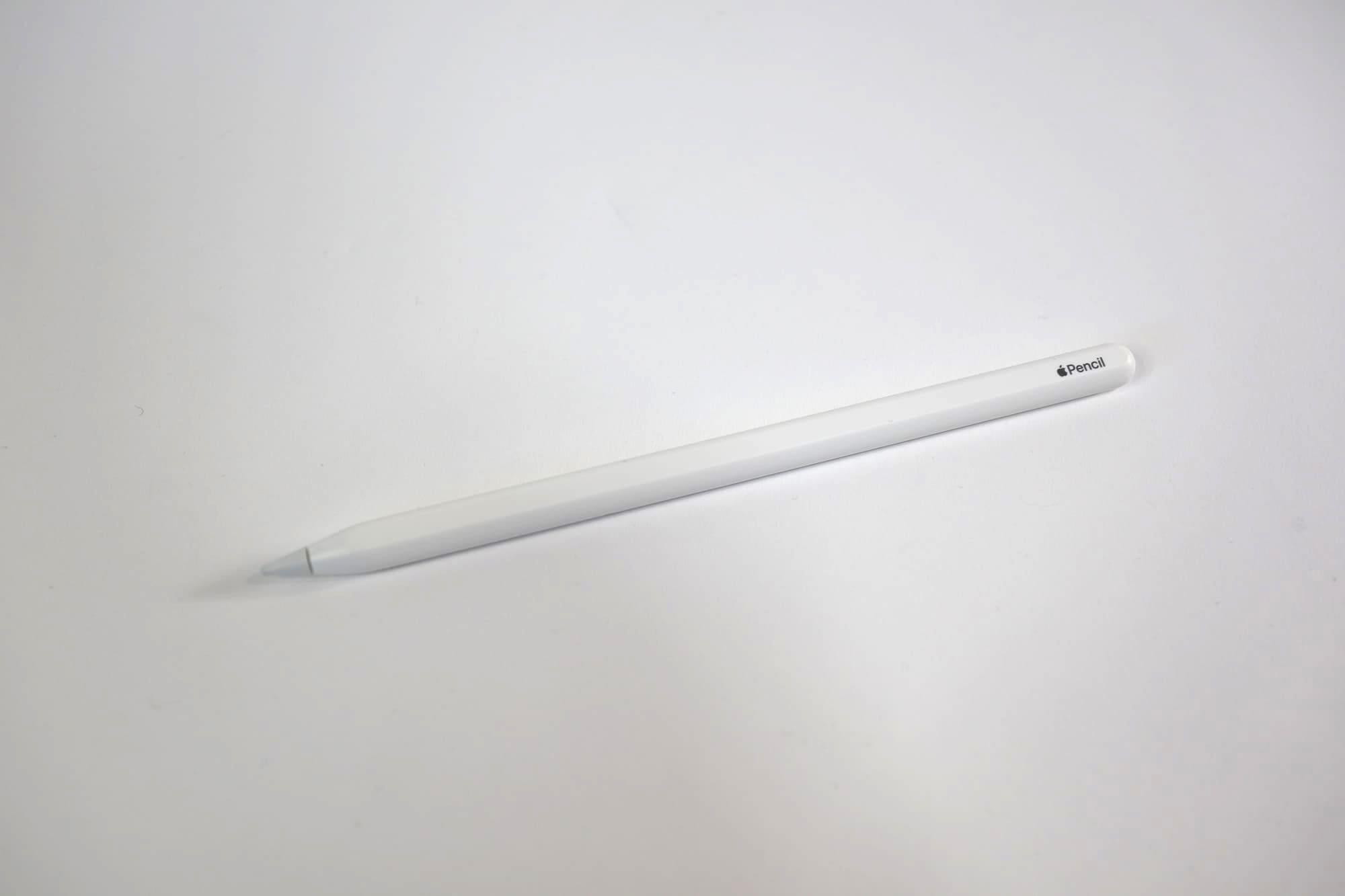 Apple Pencilの平らな部分