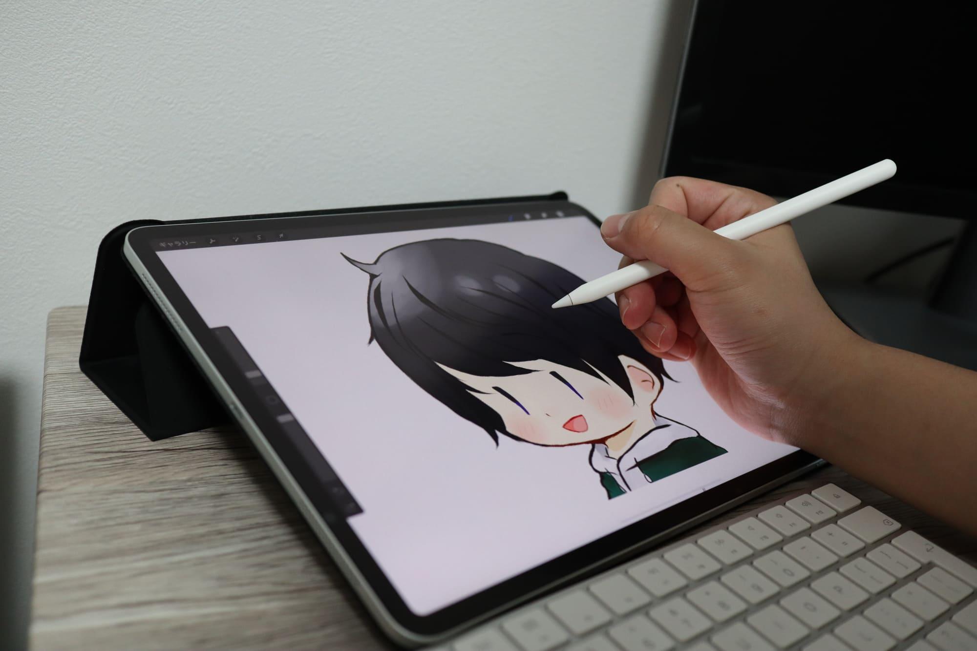 Apple Pencilで絵を描く