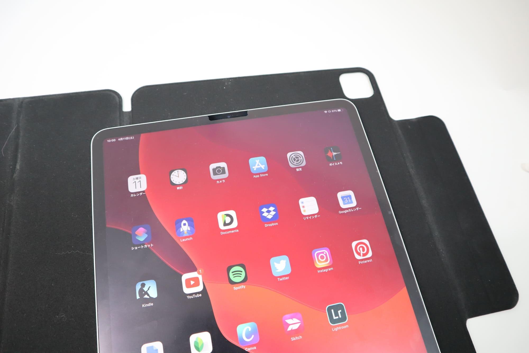 ESRのiPad Pro用ケースはマグネット式で脱着可能