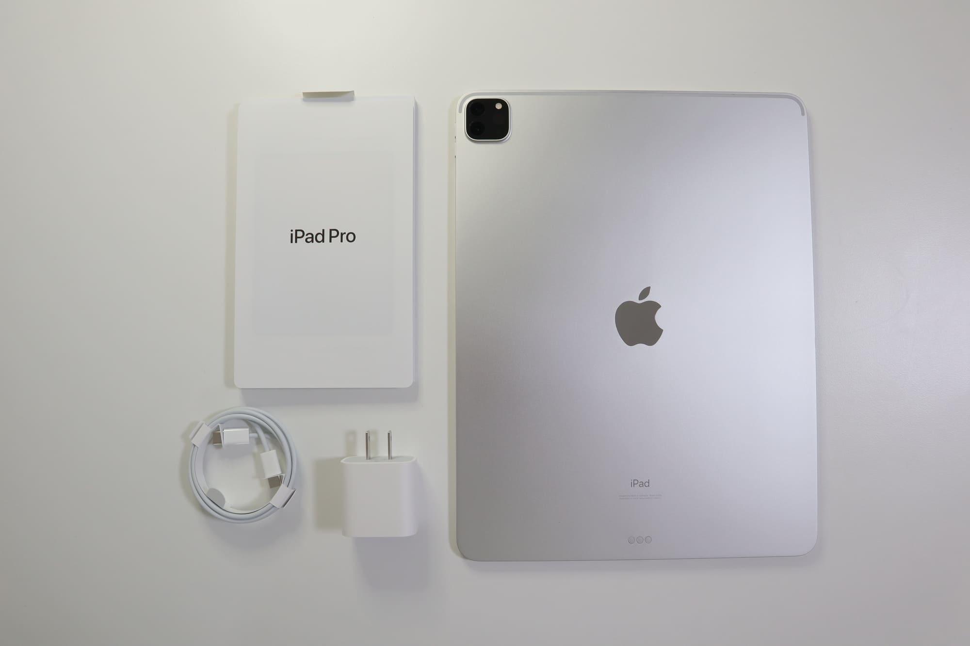 iPad Proの同梱品