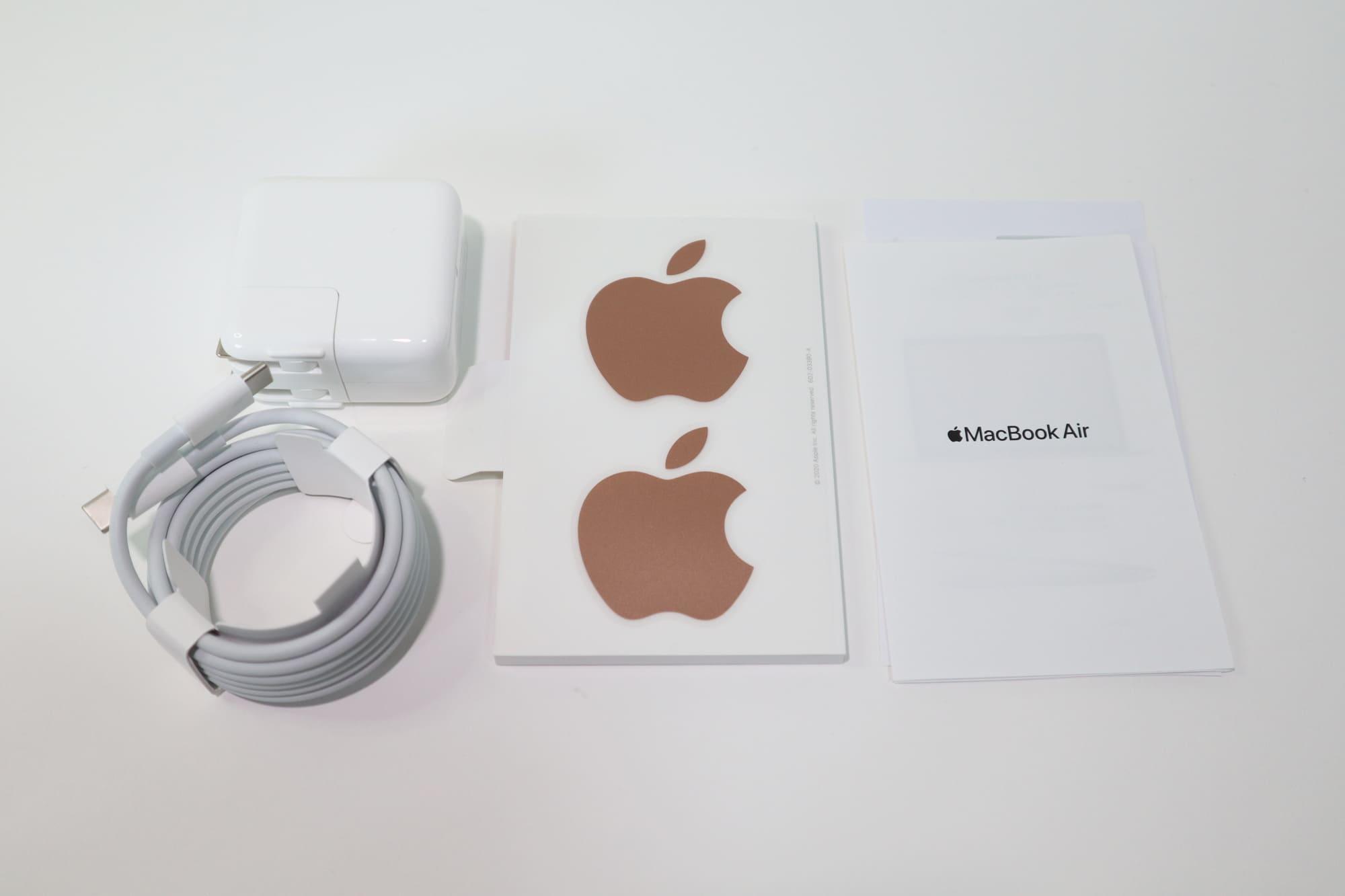 MacBook Air 2020の付属品
