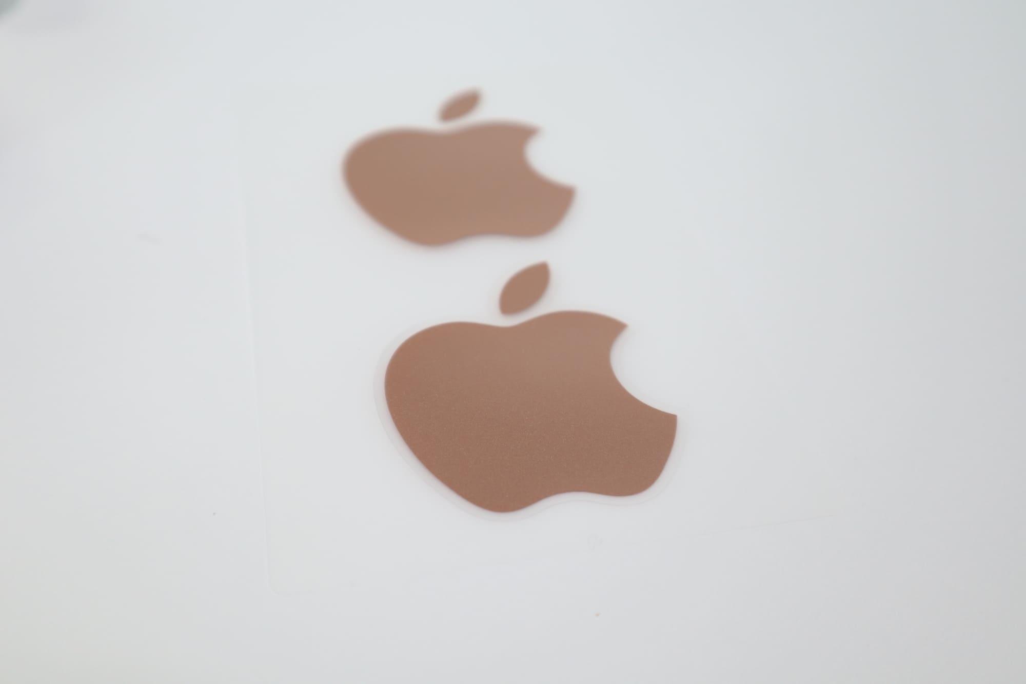 MacBook Air 2020のステッカー
