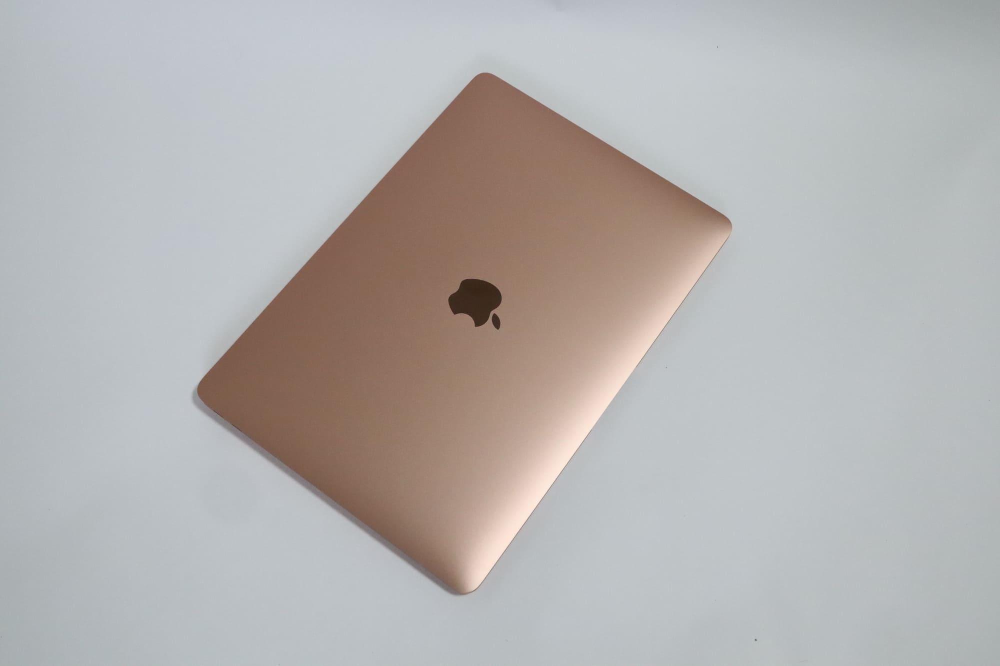 MacBook Air 2020の外観デザイン