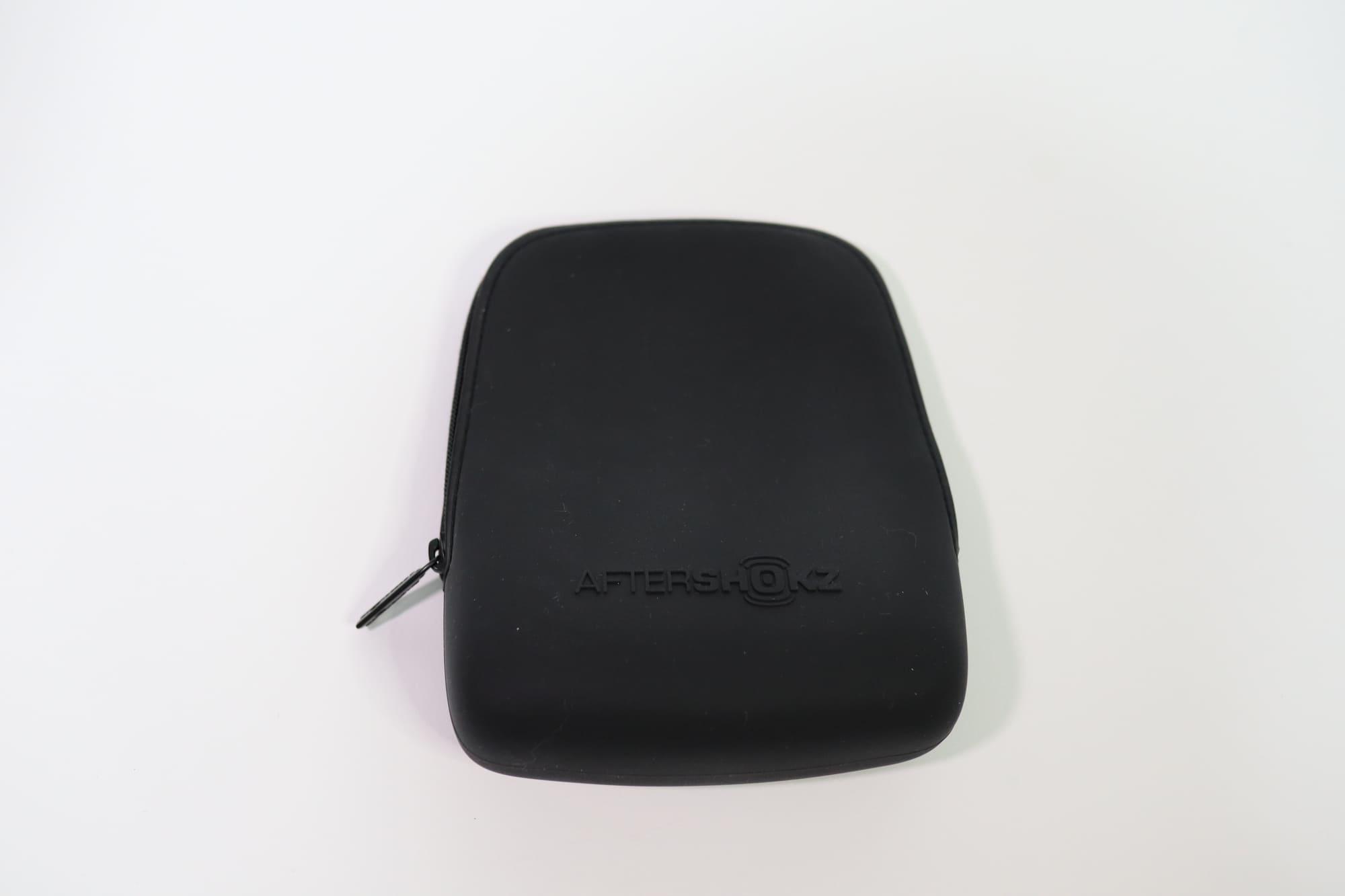 AfterShokz Xtrainerz付属のシリコンケース