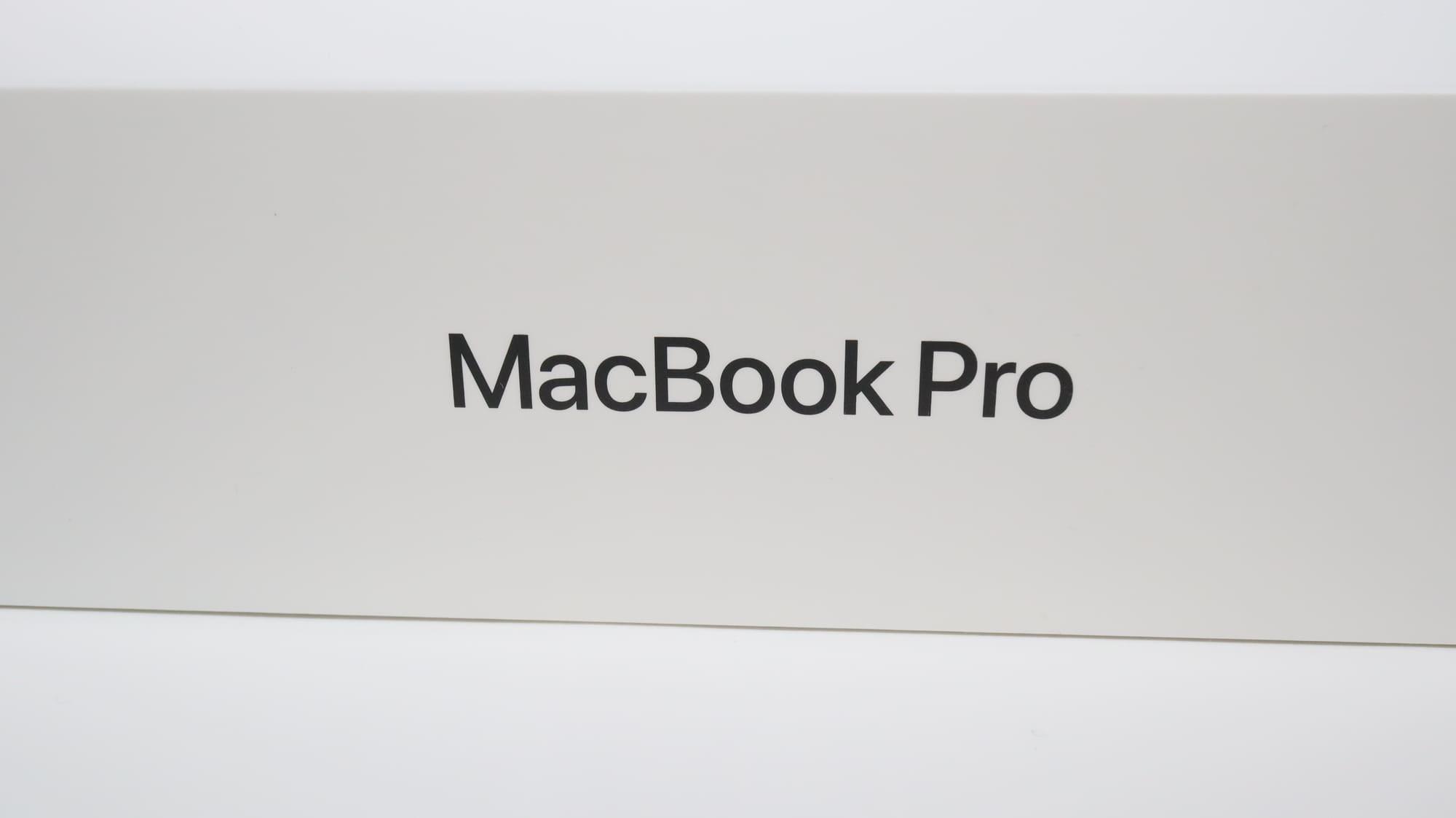 MacBook Pro 2020の同梱品