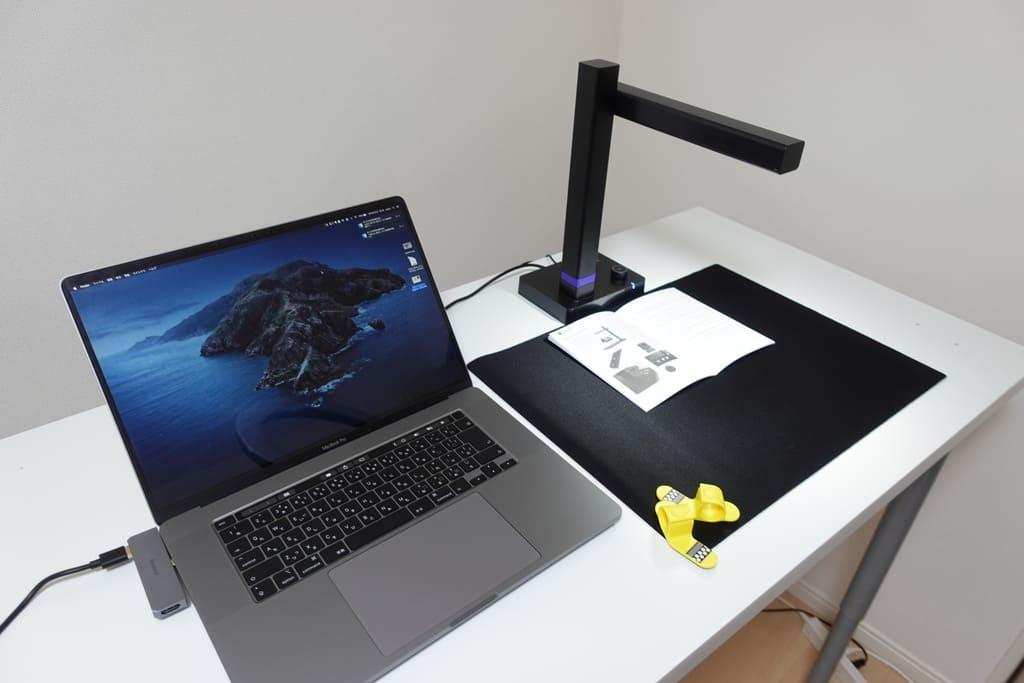 CZUR Shineにパソコンを接続