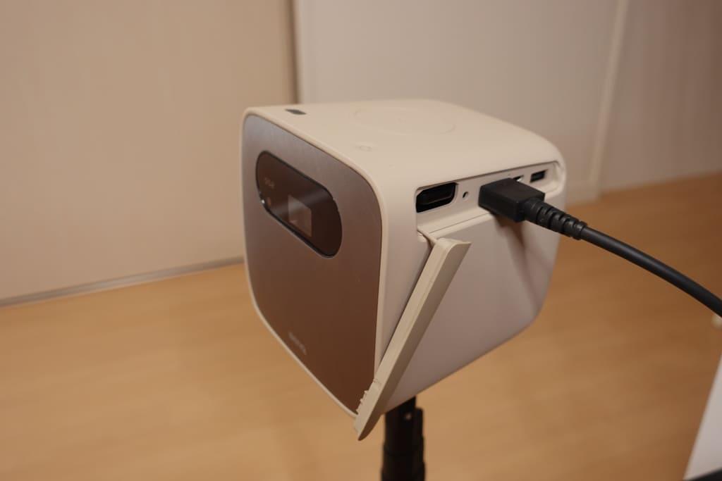 BenQ GS2にHDMI接続