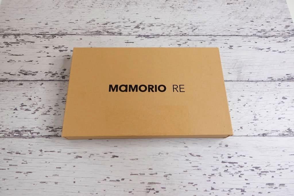 MAMORIOの外箱
