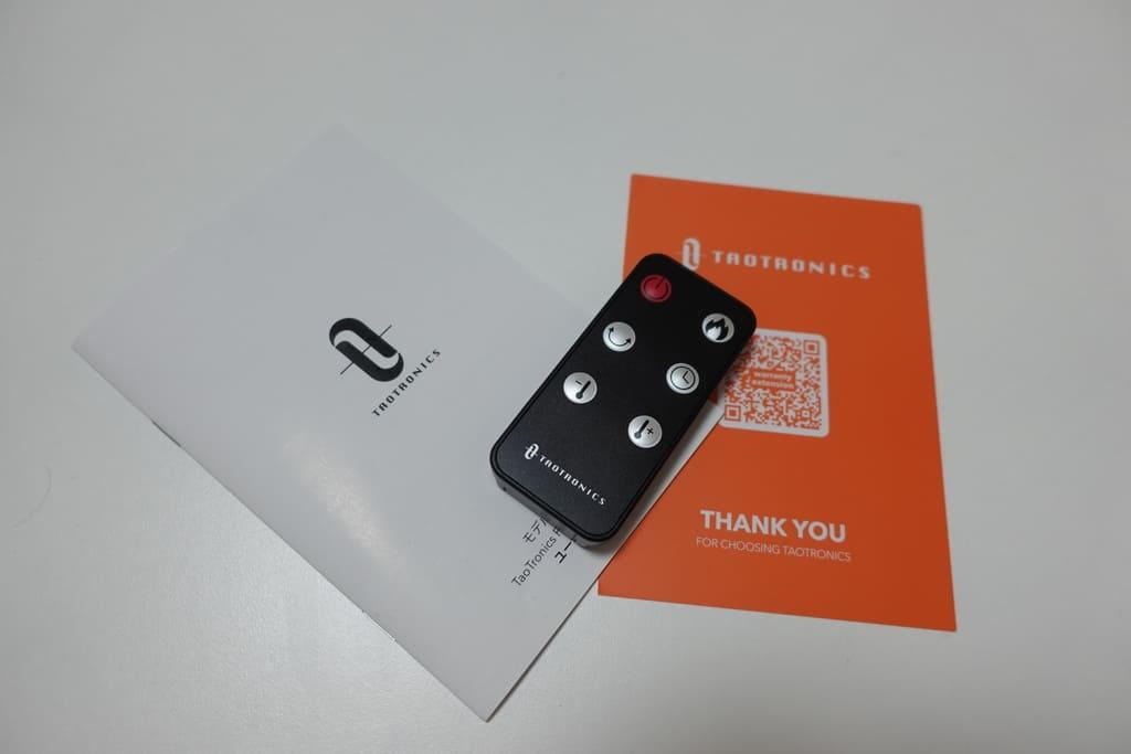 TaoTronics TT-HE004の同梱品