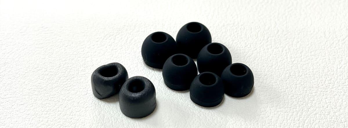 SOUNDPEATS H1付属のイヤーピース