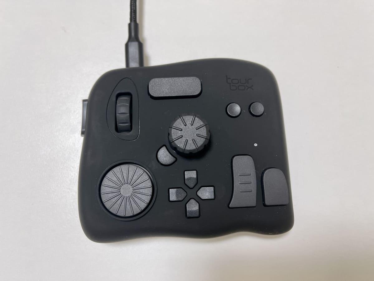tourboxのデザイン